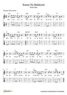 - Don't Ask - Tab- Sorma Ne Haldeyim – Nota – Tab Sezen Aksu – Sorma Ne Haldeyim – Nota – Tab – Guitar – Violin – Org – Flute - Guitar Tabs, Ukulele, John Smith, Whole Home Audio, Kalimba, Audio Room, Hifi Audio, Music Notes, Rock Music