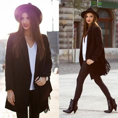 Link of this look up on my blog: http://themysteriousgirl.ro/2014/10/almost-all-black/