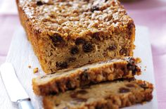 Phil Vickery's easy apple and sultana teabread recipe - goodtoknow Apple Cake Recipes, Apple Desserts, No Bake Desserts, Baking Recipes, Sweet Recipes, Dessert Recipes, Plum Recipes, Apple Cakes, Recipes