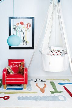 the boo and the boy: Bassinets - Babyzimmer Junge Kids Room Design, Nursery Design, Nursery Decor, Baby Decor, Nursery Ideas, Baby Girl Bassinet, Hanging Crib, Hanging Bassinet, Hanging Cradle