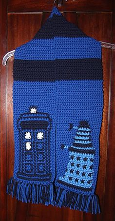 Crochet Dr Who Scarf Pattern