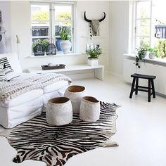 Living room  a striped cow !  #interior #interieur #homestyling #picsroom #boho  #showhometop5 #interiør  #boligliv #myhome #interior123 #Interiorwarrior #asafotoninspo #boheme #interior4all #interior_and_living #dream_interiors #myhousebeautiful  #homeinterior4you #charminghomes @interior_magasinet #mypotterybarn #interior9508 #wohnen #inredningsdesign #interior125 #vakrehjemoginterior #boligmagasinet #passion4interior  #interior_may #interior_delux #inspirasjonsguidennorge by skovbon
