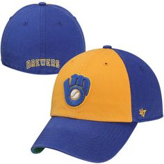 Milwaukee Brewers Cooperstown Franchise Fitted Hat – Blue/Gold