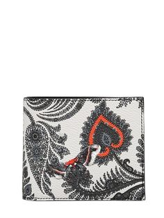 GIVENCHY PAISLEY FAUX LEATHER CLASSIC WALLET £265.00 on luisaviaroma PRE-ORDER > IN ARRIVAL BY FEB 2015 All over print Two bill compartments Six card slots Leather interior 100%PL