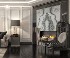 """Filiz Bür on Instagram: """"Livingroomdesign #içmekantasarımı #interiordesign #architecture #tasarım#bürmimarlık#"""" Luxury Living, Oversized Mirror, Living Room, Interior Design, Modern, Instagram, Corner, Furniture, Home Decor"""