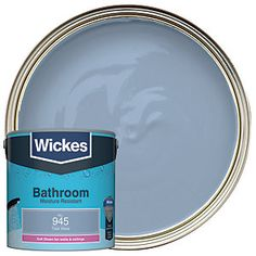 Moisture-, steam- and mould-resistant emulsion paint for walls and ceilings exposed to moisture, steam, condensation and splashing water, especially in bathrooms. Painting Bathroom Walls, Ceilings, Bathrooms, Moisturizer, Dairy, Waves, Cottage, Bedroom, Products