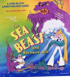 The Sea Beast and Barnacle Bill DON BLUTH Studios Production Photo Stat #1U415