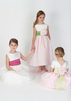>> Click to Buy << 2015 New Cheap Flower Girls Pageant Dresses A-Line Flowers Quinceanera Dresses Sequins Bouquet Flowers Girls Dresses S4911 #Affiliate