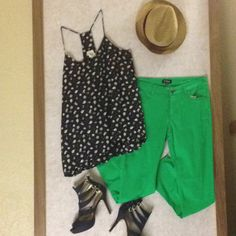 #colorblocking with blue a green! And throw in some #nautical too!