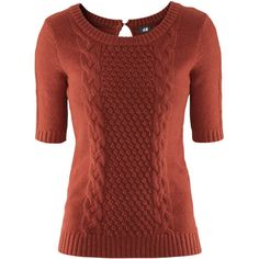 Pattern-knit jumper with angora yarn in the knit, with short sleeves and a button at the neck. Details 5% angora, 25% viscose, 20% polyamide, 50% cotton. Machin...
