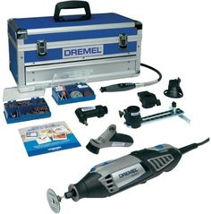 Dremel Platinum Edition Corded Multitool for sale online Dremel 4000, Jewelry Tools, Garden Chairs, Power Tools, Encendido, Products, Soldering, Russia, Gardening