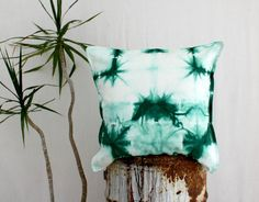 HOLT . tie dye cushion cover . pillow . throw by bohemianbabes