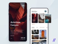 Travel Guide App Concept – Design is art Web Design, App Ui Design, Interface Design, User Interface, Design Layouts, Flat Design, Branding Design, Graphic Design, Ui Design Mobile