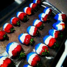 My DIY 4th of July dessert!