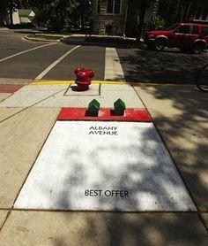 Astounding and Interactive Sidewalk Art Around the World