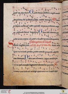 Antiphonarium Cisterciense Salem, um 1200 Cod. Sal. X,6b  Folio 125v