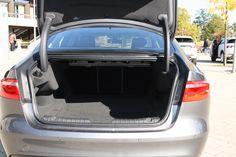 Jaguar #XF 2016 Kofferraum *Verbrauchs- und Emissionswerte F-TYPE, XE, XF, XJ, XK, inklusive R-Modelle: Kraftstoffverbrauch im kombinierten Testzyklus (NEFZ): 12,3 – 3,8 l/100km. CO2-Emissionen im kombinierten Testzyklus: 297 – 99 g/km.