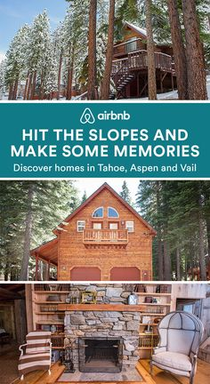 Got a little cabin fever? Find the perfect home for your next ski vacation with … Ski Vacation, Vacation Destinations, Dream Vacations, Vacation Spots, New Travel, Future Travel, Travel Goals, Fresco, Places To Travel