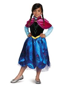 disguise frozen anna deluxe sparkle dress up outfit toddler girls
