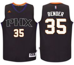 Phoenix Suns  35 Dragan Bender Black Alternate New Swingman Jersey Phoenix  Suns 4c3c44f02