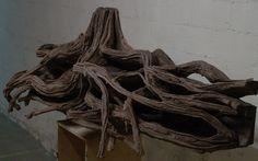 Styrofoam hardscape tiered for mudskippers - details
