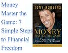 Money Master the Game: 7 Simple Steps to Financial Freedom #finance #books #goodreads