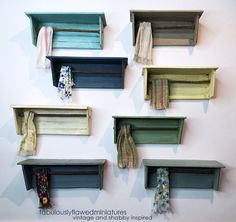 Fabulously Flawed Miniatures: Wonderful Wall Shelves...