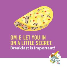 Breakfast boosts kids' physical & mental fitness so they perform better in school and on the playground!