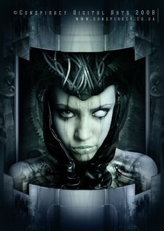 Surreal Cyberpunk Art by Conzpiracy Digital Arts | impossible astronaut