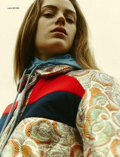 Philosophy Magazine SS 2015 Photographer: Nicolas Kantor Stylist: Kathi Kauder  Makeup: Manuela Kopp  Hair: Gregor Makris Model: Esther Heesch