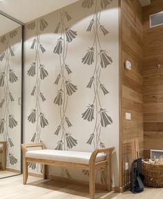 Fishlane escandinavo decorativa pared la plantilla por StenCilit