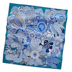 Hermes scarf print - Spring/Summer '11 collection - 'Fleurs d'Indiennes.''