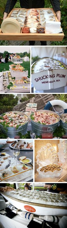wedding raw bar ideas