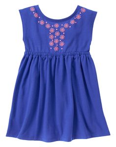 Sunny Dot Dress: $9.99, available in sizes 12 months to 5 years. Gymboree: $, local Cville franchise