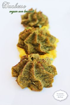 Duchesse vegan con broccoli