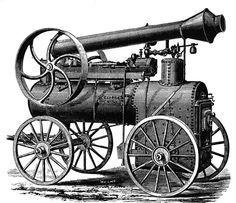 James Watt invented,  patented and designed what is considered the first steam engine in 1765.