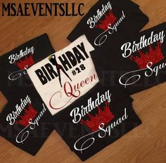 Birthday Shirts for Friends and Family Aries Birthday, Birthday Goals, 20th Birthday, Birthday Woman, Bonfire Birthday, Birthday Outfits, Birthday Group Shirts, 30th Birthday Ideas For Women, Family Birthdays