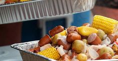 Dave's Low Country Boil Fish Recipes, Seafood Recipes, Vegetarian Recipes, Cooking Recipes, Healthy Recipes, Crowd Recipes, Grilling Recipes, Recipies, Southern Recipes