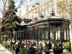 Pabellón del Espejo Paseo de Recolletos Madrid