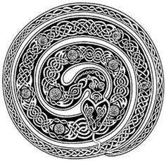 snake celtic
