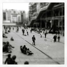 Centre Pompidou-Piazza