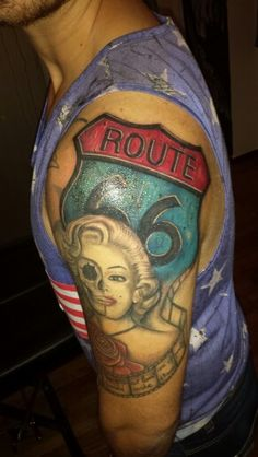 Tattoo route 66
