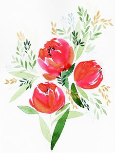 Recently, I fall in love with watercolor painting after watching Yao Cheng's watercolor tutorial on the Creativebug. Here is a link www.creativebug.com Yao Cheng's Beginning Watercolor Overview ...