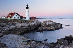 The Most Charming Lighthouses in New England - Of America's roughly 1,000 lighthouses, more than 150 rest dutifully on the craggy coast of the small but mighty Northeast. Time for a scenic tour, guys!