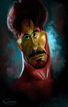 Robert Downey Jr. | 29 Celebrity Caricatures That Are Incredibly Accurate