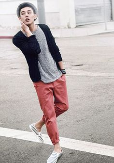 Pink Parts Coordinate #Fashion #Men's