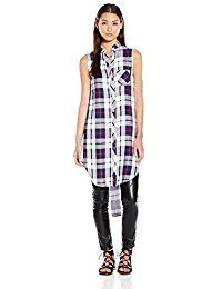 New Rails Women's Jordyn Plaid Sleeveless Tunic Pocket Shirt online. Find the perfect Solitaire Fashion Tops-Tees from top store. Sku FTTM17127LBCV40241