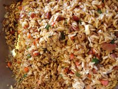 Fried rice Arroz chino ( frito)
