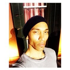 #AboutLastNight #selfie @murielsnola balcony #JacksonSquare #NewOrleans #NOLA #FrenchQuarter #walkingtours #marcjacobsbeanie #black #creole #french #nativeamerican #gay #instagay #cheekbones #unbothered by andreverdunjones