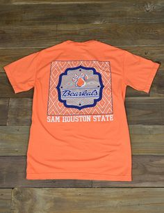 Keep it trendy this spring while showing your school spirit in this new Sam Houston State University Apache t-shirt Go SHSU Bearkats